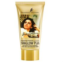 Shahnaz husain Shaglow Plus - Intensive Moisturiser for Dry, Dehydrated Skin 40 Gm