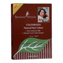 Shahnaz husain colourveda natural hair color Dark brown 100 gm