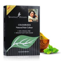 Shahnaz Husain Colourveda Natural Hair Colour - 100 Gms. (BLACKISH BROWN)