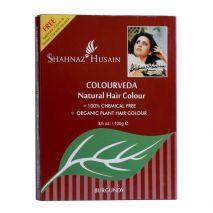 Shahnaz husain colourveda natural hair color burgundy 100 gm