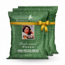 Shahnaz Forever Henna Precious Herb Mix - 3x100 Gm (Combo Pack)
