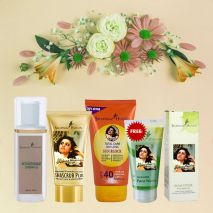 Holi skin protection and after care kit