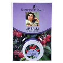 Shahnaz Husain Shashine  lip balm purple