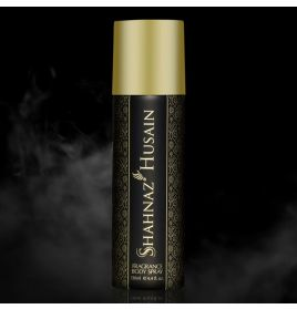SHAHNAZ HUSAIN DEODORANT PREMIUM BLACK FRAGRANCE BODY SPRAY FOR MEN